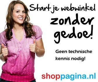 Start je shoppagina webshop