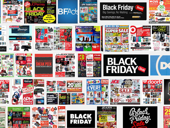 Black Friday advertenties